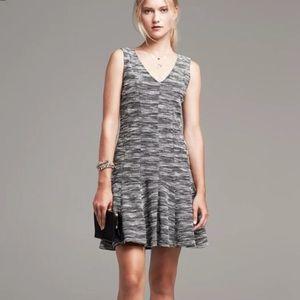 NWT Banana Republic Marled Tweed Drop Waist Dress